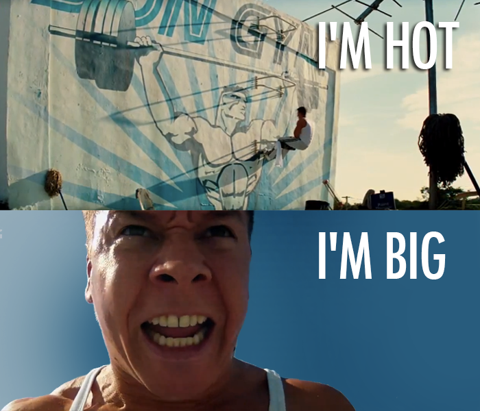 Pain & Gain (2013) Quote (About sit up hot gym fitness body building big)