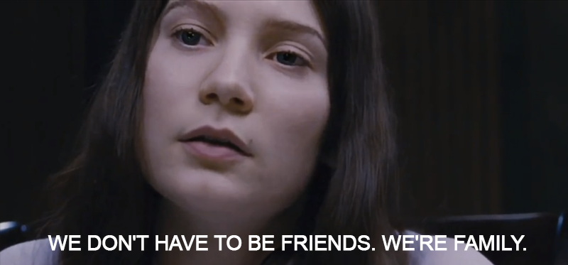 Stoker (2013)  Quote (About killer friends family)