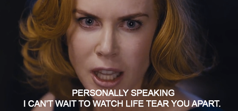 Stoker (2013)  Quote (About tear you apart personally speaking life hate anger)