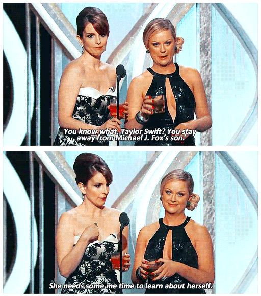 Golden Globes Awards 2013 Quote (About Taylor Swift Michael J. Fox host harry styles funny)