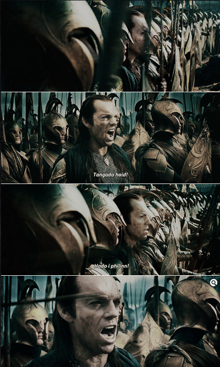 The Lord of the Rings: The Two Towers (2002) Quote (About war attack)