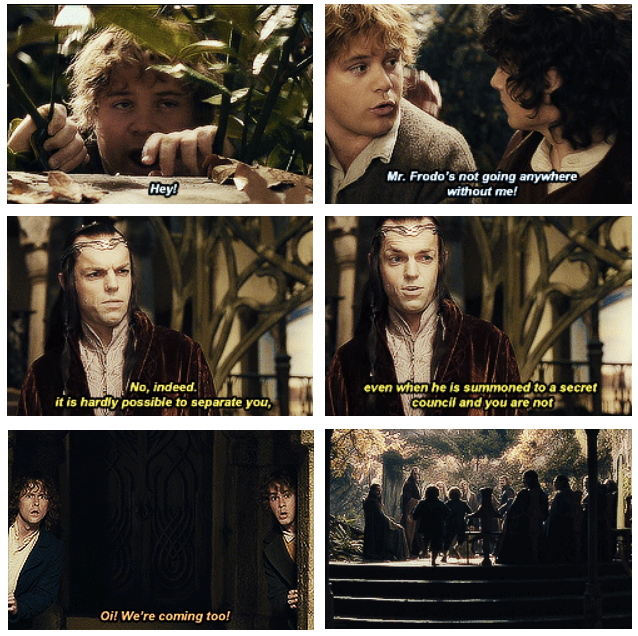 The Lord Of The Rings The Fellowship Of The Ring 2001 Quote About Friendship Friends Fellowship Cq