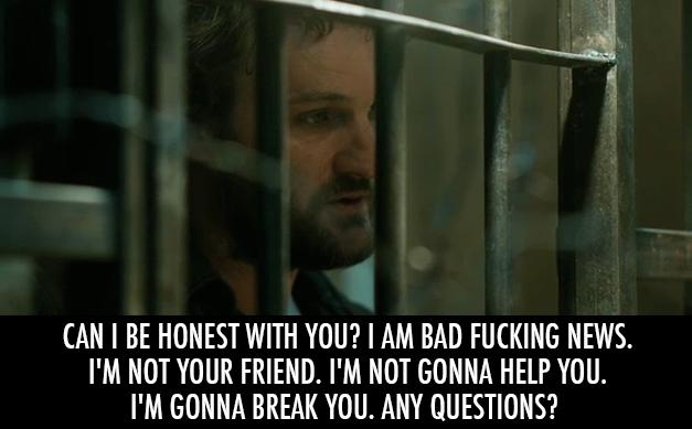 Zero Dark Thirty (2012) Quote (About torture threat honest enemy bad news)
