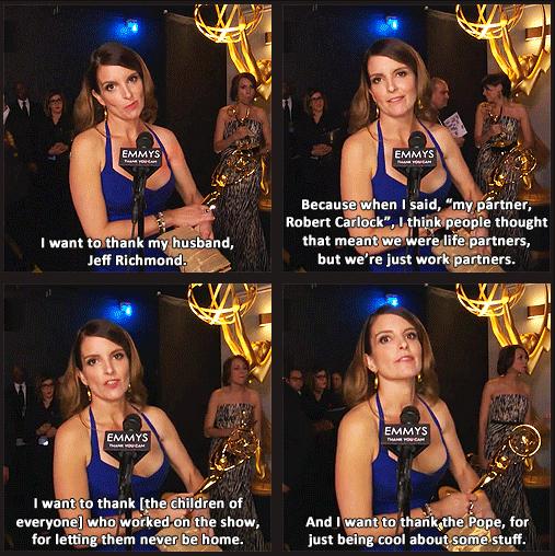 Emmy Awards 2013 Quote (About Robert Carlock Jeff Richmond interview)