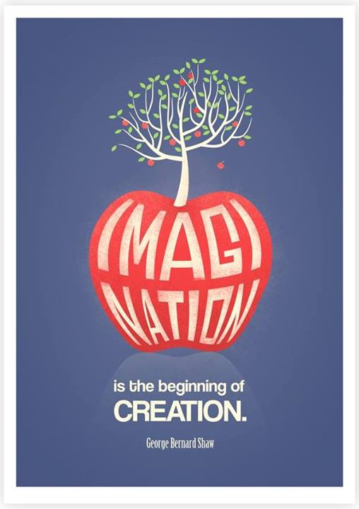 George Bernard Shaw Quote (About imagination creation)